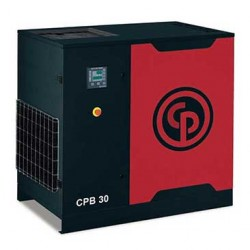 Chicago Pneumatic CPB 30 Oil Injected Screw Compressor with 500 L Receiver + Dryer (8 bar version)