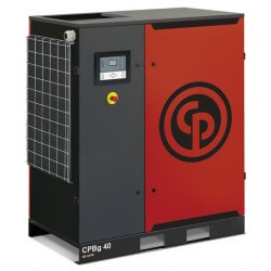 Chicago Pneumatic CPBg 40 Oil Injected Screw Compressor | 7.5, 8.5, 10, 13 bar versions available