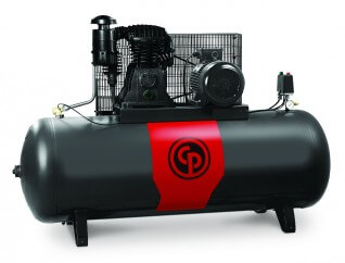 Chicago Pneumatic Piston Compressor CPRD 10270 | 10HP 270L with aftercooler (3-Phase)