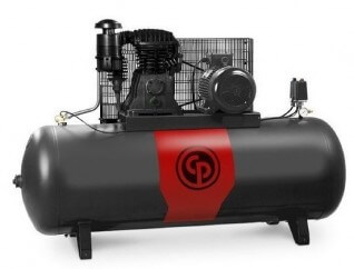 Chicago Pneumatic Piston Compressor CPRD 4200 | 4HP, 200L with aftercooler (3-Phase)