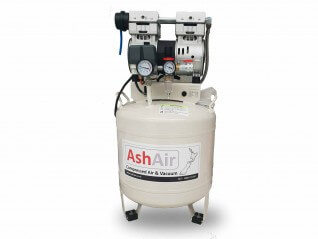 1.5HP 50L Oil-Free Air Compressor with Filter Regulator