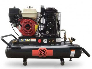 5.5HP 30L Twin Tank Petrol Air Compressor (12.4 cfm, 10 bar) CPBA-55E