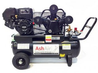 6.5HP 50L Cast Iron Petrol Air Compressor SF302 KOHLER