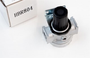 "PIT Tools HBR804 1/2"" BSP Inline Regulator 