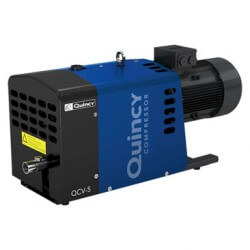 Quincy Dry Claw Low Pressure Vacuum Pump QCLP-180 | (300 m3/h, 2.5 bar)