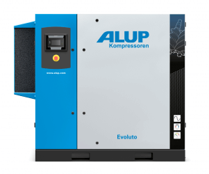 ALUP Evoluto 75 Oil Injected Screw Compressor with Variable Speed Drive
