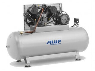 ALUP HLCA 10500 Piston Compressor | Cast Iron, 10 hp, 500 L (3-Phase)