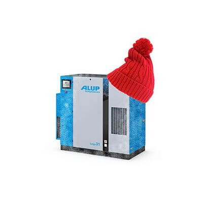 Is your compressed air installation ready for the cold weather?